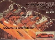 VH CHRYSLER CHARGER ADVERTS E38 E49 R/T ADS MAN CAVE ADVERTISING POSTERS