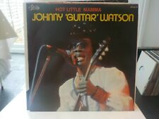 JOHNNY GUITAR WATSON HOT LITTLE MAMMA BLUES VINYL LP RECORD