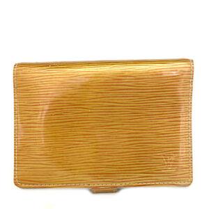 Louis Vuitton Cyber Epi Agenda PM Leather Notebook CoverC0528
