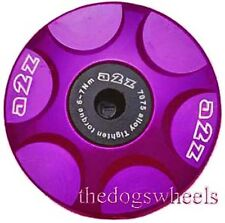 A2Z Anodised Alloy Headset Compressor Topcap Top Cap Purple  MTB Bicycle Bike