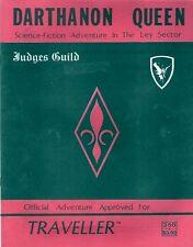 TRAVELLER  Darthanon Queen w/ Deck Plans - Judges Guild FS