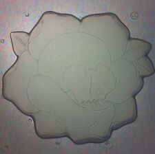 Flexible Resin Mold Skull and Rose Flower Mould Resin Supplies