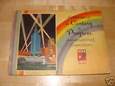 1933 World's Fair Chicago Century of Progress Souvenir Book