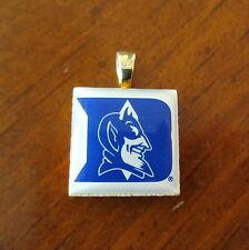 DUKE UNIVERSITY BLUE DEVILS LOGO TILE CHARM PENDANT LifeTiles game day jewelry