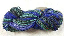 Noro Odori #11 Pink Blue Green & Brown Tones 100g Silk Angora Wool Mohair