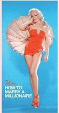 Licensed Marilyn Monroe Beach/Bath Towel How to Marry a Millionaire Blue Swim