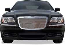 FITS CHRYSLER 300 2011-2014 REPLACEMENT CHROME MESH GRILLE  TOP & BOTTOM