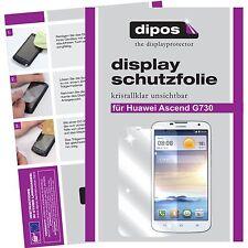 1x dipos Huawei Ascend G730 Film de protection d'écran protecteur cristal clair