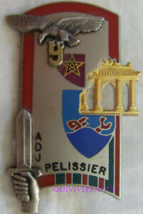 IN13497 - INSIGNE PELISSIER, ADJ, 146° Promo ENSOA, 9° Tirailleurs en E.O.