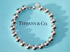Tiffany & Co Stadt Hardwear Kugel Sterlingsilber 10mm Perlen Armband