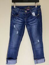Almost Famous Cuffed Jeans New