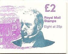 GB QEII FOLDED Stamp Booklet FW5 1995 SG Y1689 SIR ROWLAND HILL CYLINDER CYL B4