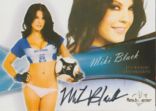 Miki Black 2013 Bench Warmer Authentic autograph auto card 65
