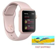 Apple Watch Gen 3 Series 3 GPS 38mm Gold Aluminum Pink Sand Sport Band MQKW2LL/A