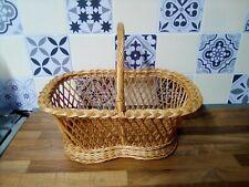 Large  Wicker Shopping Basket