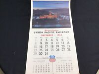 1964 Vintage Union Pacific Railroad Train Calendar Complete