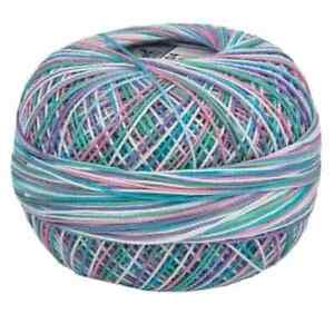 Lizbeth Egyptian Cotton Crochet Thread Size 80 Color 104 Summer Fun