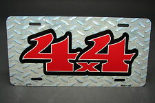 4 X 4 OFF ROAD METAL NOVELTY CAR LICENSE PLATE TAG
