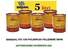 5 LITRI OLIO MOTORE AUTO BARDAHL 5W40 XTC C60 POLAR PLUS FULLERENE