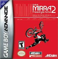 Dave Mirra Freestyle BMX 2 - Nintendo Game Boy Advance GBA