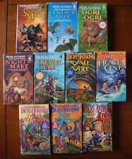 Piers Anthony - Lot of 10 Xanth Paperbacks - Very Good Condition