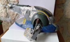 STAR WARS Véhicule boba feet Slave 1 vaisseau spatial. Jedi hasbro 2001