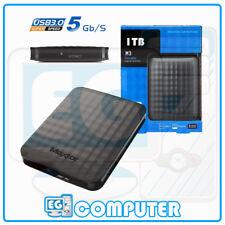 HARD DISK ESTERNO MAXTOR SEGATE STSHX-M101TCBM 2,5 USB 3.0 1TB 1000GB HD EXT