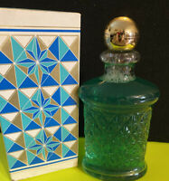 VINTAGE AVON BREATH FRESH MOUTHWASH in GLASS APOTHECARY DECANTER BOTTLE- NOS