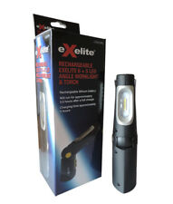 CLA EXELITE LED65WKL RECHARGEABLE EXELITE 6+5 LED ANGLE WORKLIGHT & TORCH