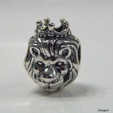 Authentic PANDORA 925 Sterling Silver Charm Lion King of The Jungle 791377