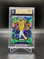 2019/20 NBA PANINI PRIZM GREEN ICE LEBRON JAMES #129 BGS 9.5 TRUE 💎 MINT LOOK!