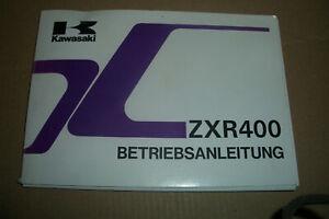 Kawasaki ZXR 400 Betriebsanleitung Handbuch Bord Gebrauchsanweisung  ZX400 L9