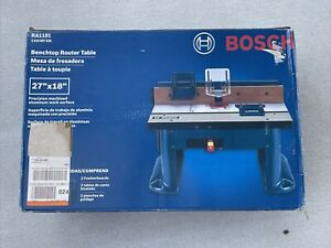 """Bosch RA1181 Benchtop Router Table 27"""" X 18"""" - New In The Box - Free Shipping"""