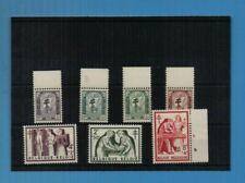BELGIUM ANTI-TB 1956.SEVEN VALUES COMPLETE  MNH CAT £44