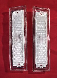 CLEAR FRONT SIDE MARKER LIGHT 1981-1991 CHEVROLET C10 C20 C30 GMC C1500 C2500