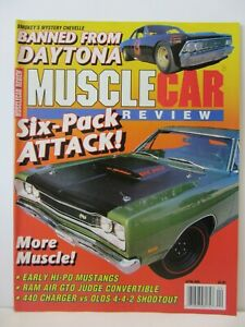 Muscle Car Review - April 1989 , Six - Pack Attack !  (820)