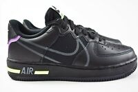 Nike Air Force 1 React Size 6.5Y Shoes CD6960 001 GS Unisex Black