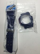 NEW CASIO G SHOCK GWF-1000NV NAVY BLUE FROGMAN BAND/BEZEL FIT FOR GWF/GF-1000