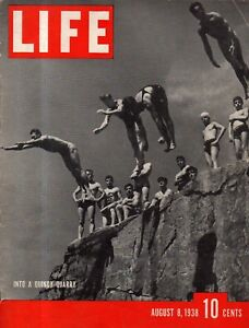 1938 Life August 8 - Mao, Chiang and China fight on; Jazz, Swing and Jitterbug