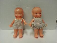 Vintage IRWIN Kewpie Doll Pair-Hard Plastic