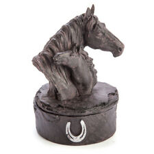 Mother and Foal Horse Head Trinket Box Shoe Jewellery Accessories for Keeps