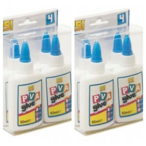 PVA Glue bottles Washable Safe Glue Ideal School Craft Home Office NON Toxic