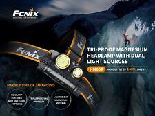 Fenix HM65R CREE LED 1400lm Headlamp Head Torch Spotlight Floodlight Battery
