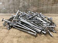 3.8cm Acier Inoxydable Rond Câble Ongles 40mm x 2.65 Paquets De 10 25 50 100