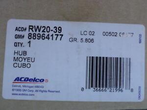 88964177 (RW20-39) - Hub & Bearing - GM ACDelco OE Service