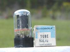 A VINTAGE MOTOROLA/RCA 6SL7G BLACKPLATE NOS/NIB VAC TUBE