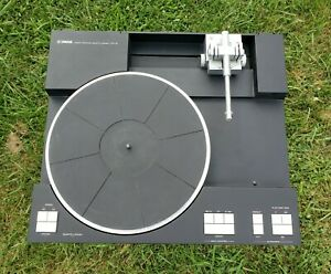 Yamaha PX-2 Linear Tracking Quartz Locked Turntable Solid Metal Audiophile Unit!