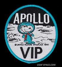 "SNOOPY - APOLLO VIP - NASA - 4"" BLUE BORDER  SPACE PATCH - MINT *****"