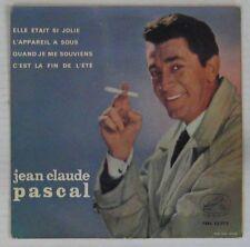 Jean-Claude Pascal 45 Tours interprète Gainsbourg Espagne