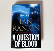 Inspector Rebus : A Question of Blood by Ian Rankin 2004, signed first 1st